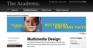 The Academy. Frontend development for Sharepoint.